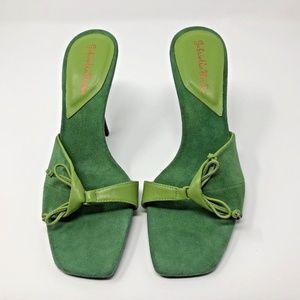 Gabriella Rocha Womens Green Heels Size 6